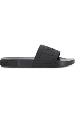 Dolce & Gabbana Men Sandals - Embossed logo slides