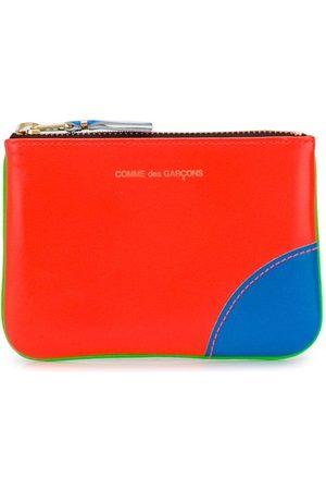 Comme des Garçons Colour-block logo wallet