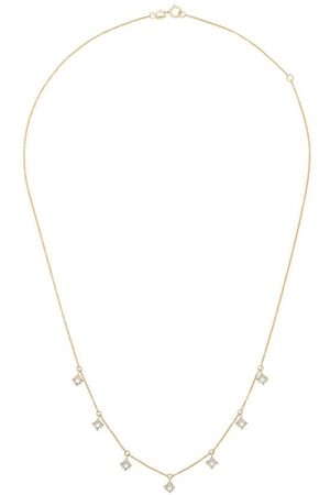 Dana Rebecca Designs Women Necklaces - 14kt yellow diamond charm necklace - 107 - Metallic: