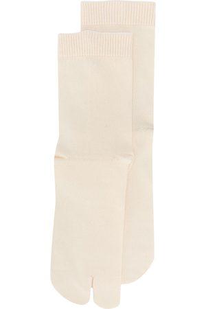 Maison Margiela Tabi toe socks - Neutrals