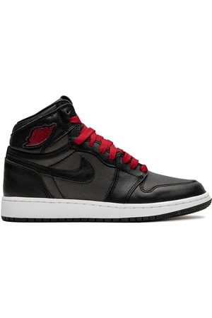 Nike TEEN Air Jordan 1 High Retro GS satin/gym red