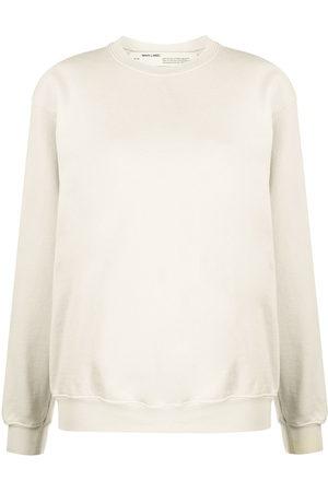 OFF-WHITE Oversized diagonal stripes sweatshirt - Neutrals