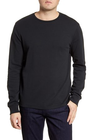 Frame Men's Cotton Long Sleeve Crewneck T-Shirt