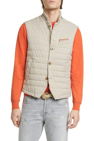 ELEVENTY Men's Packable Quilted Vest