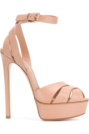 Casadei Platform stiletto sandals - Neutrals