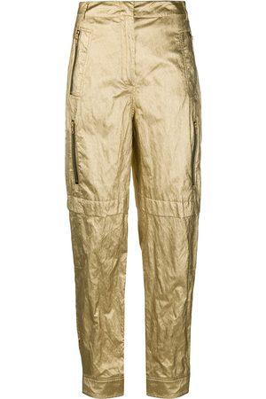 Serafini Metallic trousers