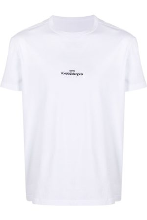 Maison Margiela Logo-embroidered T-shirt