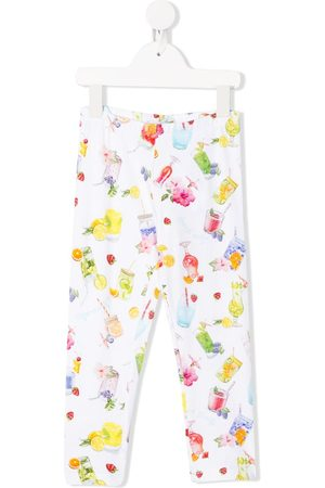 MONNALISA All-over print trousers