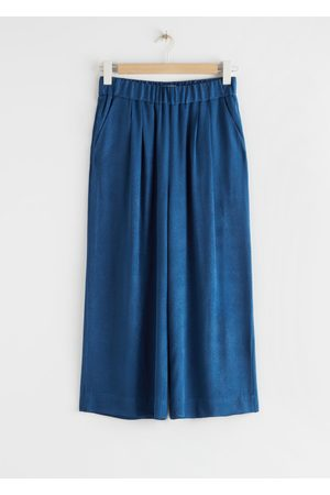 & OTHER STORIES High Waisted Culottes