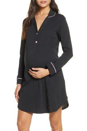 Belabumbum Women's Maternity/nursing Nightshirt