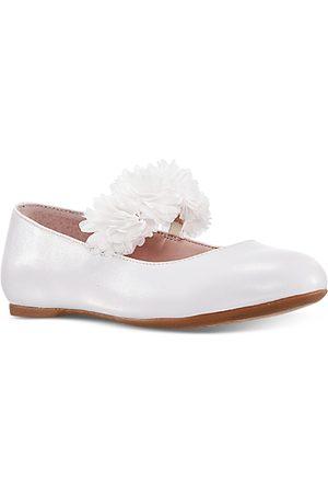 NINA Girls' Floral Ballet Flat - Little Kid, Big Kid
