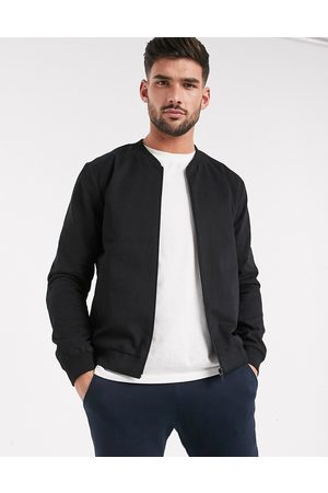 New Look Lightweight cotton bomber jacket in