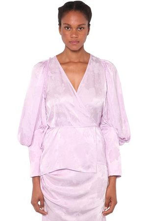 ACT N°1 Jacquard Satin Shirt