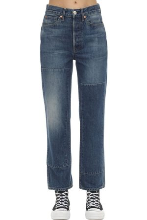 3x1 Claudia Denim Straight Jeans