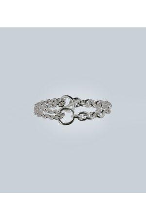 ALL BLUES Double sterling bracelet