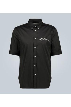 Alexander McQueen Men Shirts - Shirt with McQueen motif