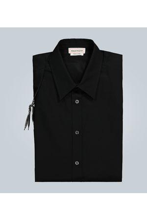 Alexander McQueen Men Shirts - Cotton Harness shirt