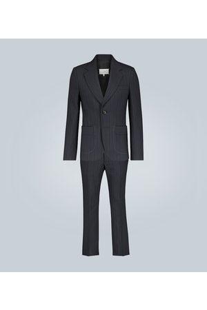 Maison Margiela Pinstripe wool and cotton-blend suit