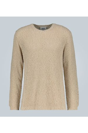 Nanushka Men Sweaters - Open knit crewneck sweater