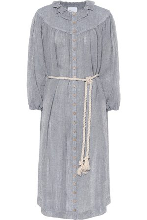 Lisa Marie Fernandez Women Casual Dresses - Fiona linen shirt dress