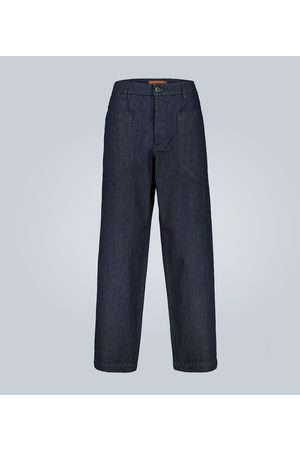 BARENA Wide-leg denim pants