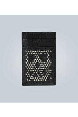 Alexander McQueen Men Wallets - Studded leather card holder