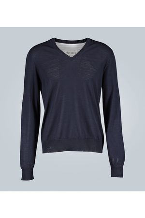 Maison Margiela Spliced sweater shirt