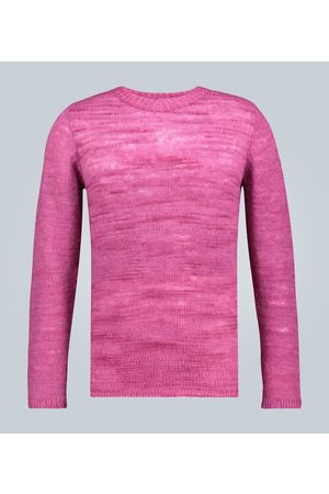 THE ELDER STATESMAN Men Sweaters - Picasso crewneck cashmere sweater