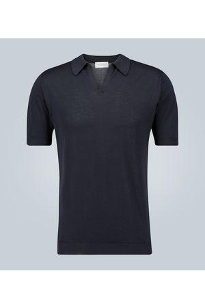 JOHN SMEDLEY Noah Sea Island cotton polo shirt
