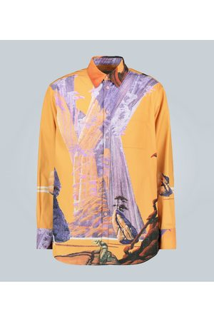 VALENTINO Exclusive to Mytheresa – technical city print shirt