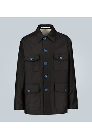 Marni Compact moleskin satin jacket