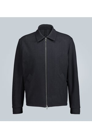 Harris Wharf London Reverse-loopback jersey jacket
