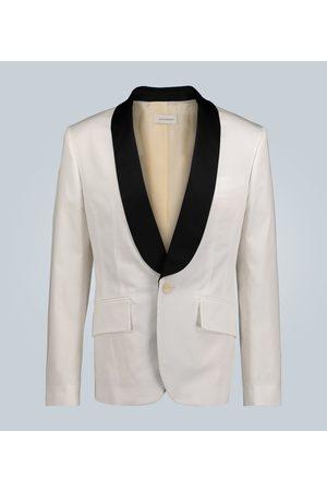 WALES BONNER Stretch-cotton tuxedo jacket
