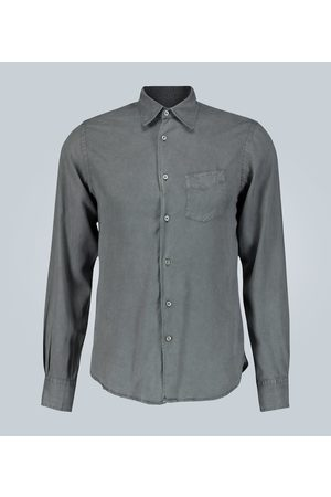 OFFICINE GENERALE Benoit regular-fit washed twill shirt