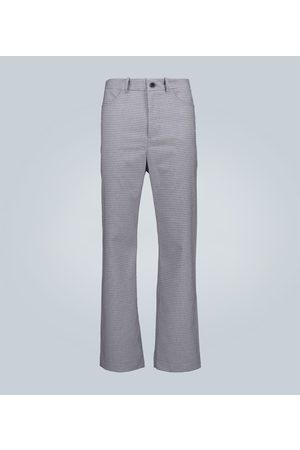 GOETZE Straight-leg houndstooth pants