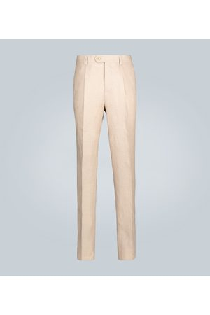Brunello Cucinelli Straight-fit linen pants
