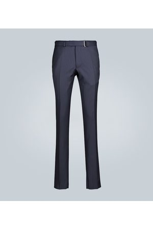 OFFICINE GENERALE Paul straight-leg pinstripe pants