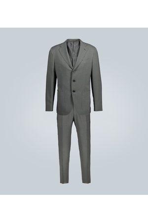 CARUSO Aida slim-fit wool suit