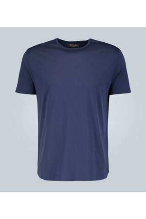Loro Piana Silk-cotton blend T-shirt