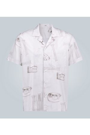 Commas Camp-collar short-sleeved shirt