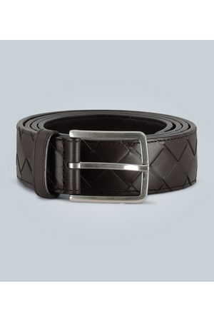 Bottega Veneta Woven leather waist belt