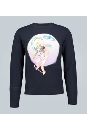 VALENTINO Space Land cashmere sweater
