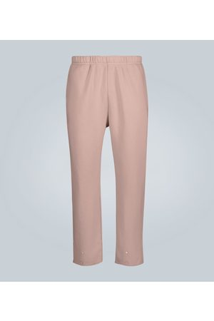 Les Tien Snap buttoned cotton sweatpants