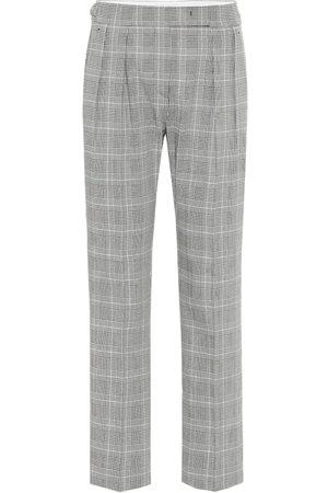Max Mara Fibra high-rise straight pants