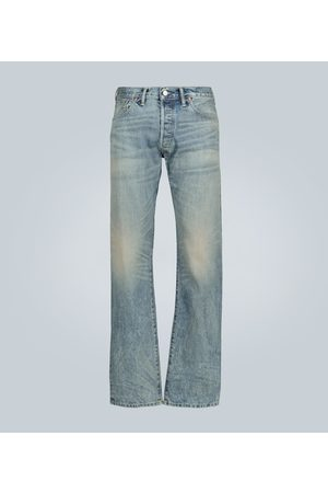 RRL Straight-fit selvedge denim jeans