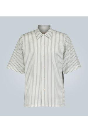 Marni Striped camp-collar shirt