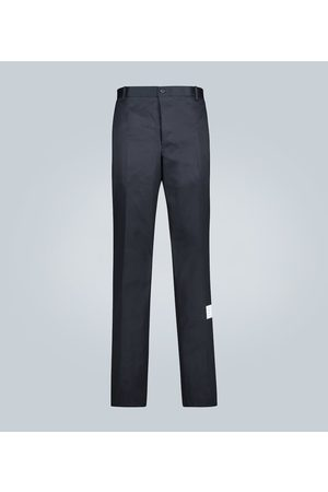 Thom Browne Cotton-twill chinos