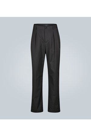 VALENTINO Double-pleated technical pants