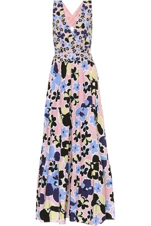 ALEXANDRA MIRO Mimi floral cotton maxi dress