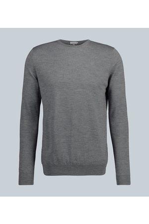 Sunspel Crew neck merino wool sweater